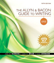 Allyn and Bacon Guide To Writing Concise Edition by John D Ramage