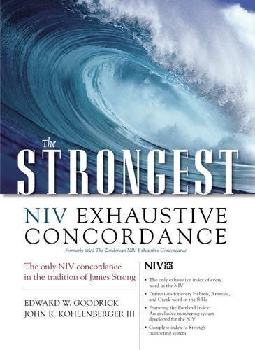 Strongest Niv Exhaustive Concordance
