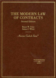 The Modern Law Of Contracts by Bruce Frier: