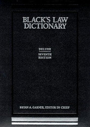 Black's Law Dictionary Deluxe