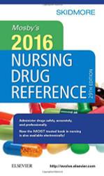Mosby's 2016 Nursing Drug Reference