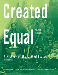Created Equal Volume 1 by Jacqueline Jones