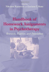 Handbook Of Homework Assignments In Psychotherapy