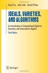 Ideals Varieties And Algorithms