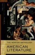The Norton Anthology Of American Literature Volume D by Robert Levine