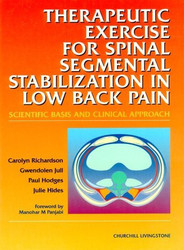 Therapeutic Exercises For Spinal Segmental Stabilization In Low Back Pain
