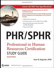 Phr / Sphr Professional in Human Resources Certification Study Guide by Sandra Reed