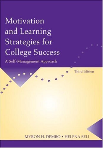 Motivation And Learning Strategies For College Success