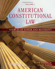 American Constitutional Law Volume 1 by Otis Stephens