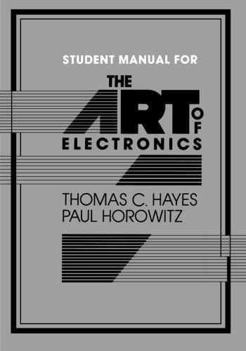 Art Of Electronics Student Manual