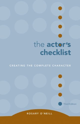 Actor's Checklist