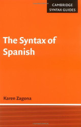 Syntax Of Spanish