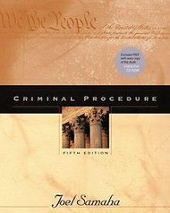 Criminal Procedure - Joel Samaha