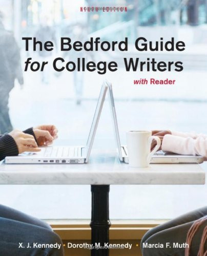 Bedford Guide For College Writers With Reader