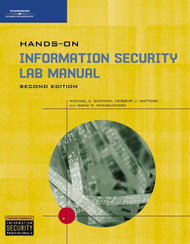 Hands-On Information Security Lab Manual by Michael Whitman