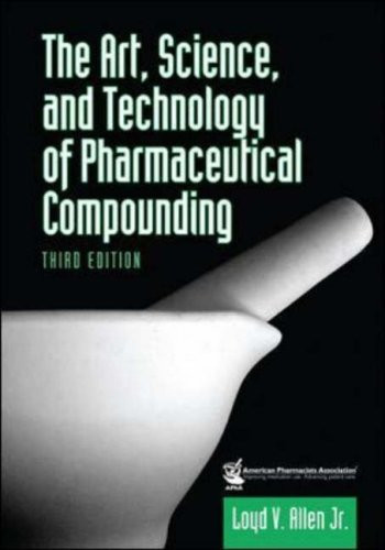 Art Science And Technology Of Pharmaceutical Compounding