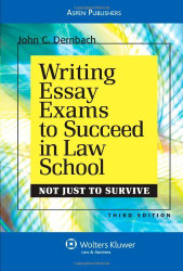Writing Essay Exams To Succeed In Law School