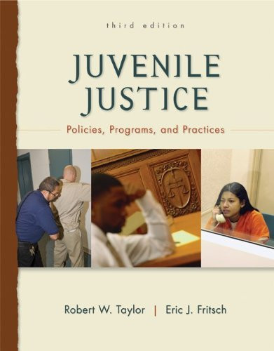 Juvenile Justice Policies And Programs