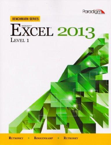 Microsoft Excel 2013 Level 1