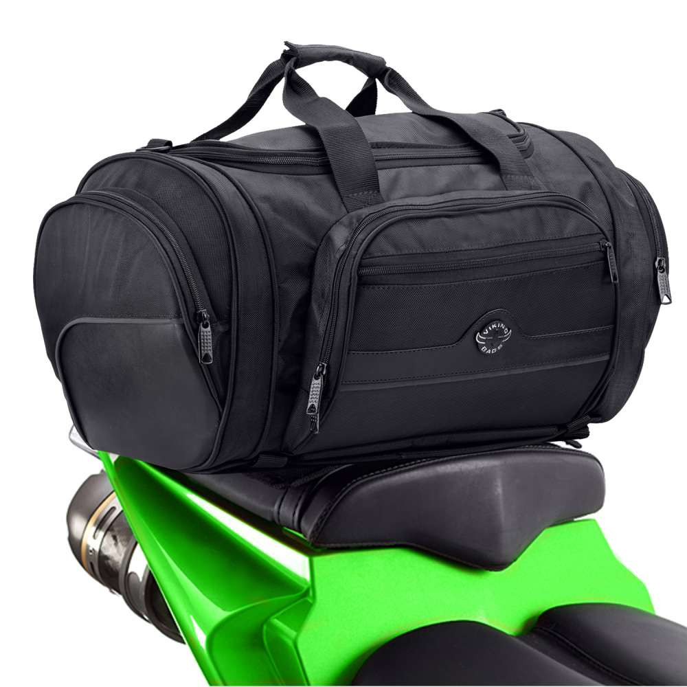 Viking Cruise Motorcycle Roll Bag  on Bike View