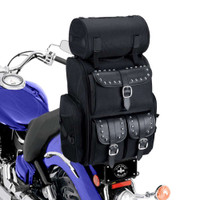 Viking Extra Large Studded Sissy Bar Bag 4,553 Cubic Inches