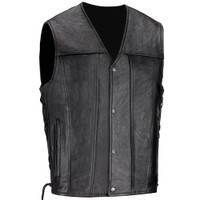 VikingCycle Mens Armor Motorcycle Vest