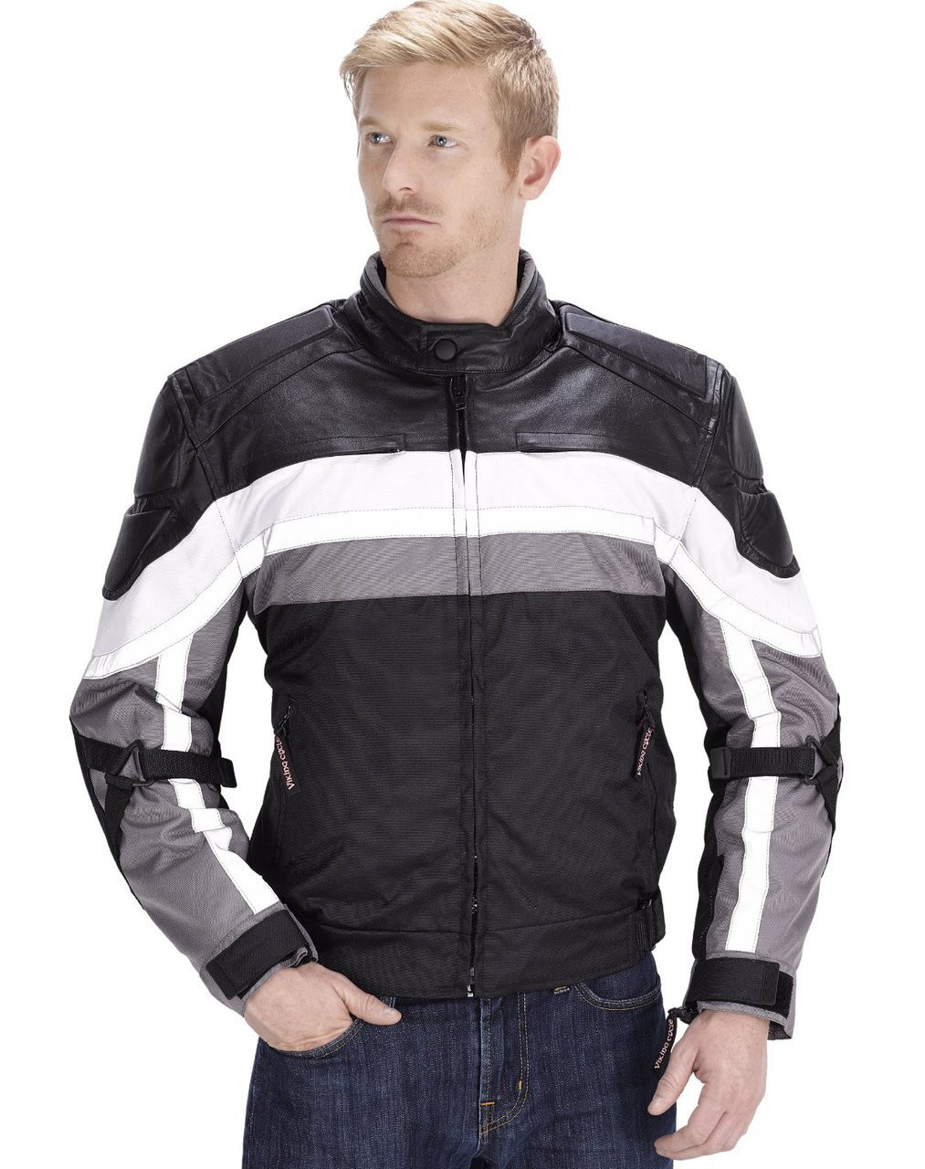 VikingCycle Hammer Motorcycle Jacket for Men
