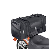 Viking Expandable Cruiser Large Motorcycle Tail and Tunnel Bag