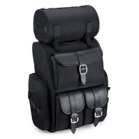 Viking Extra Large Plain Motorcycle Tail Bag Bag 4,400 Cubic Inches