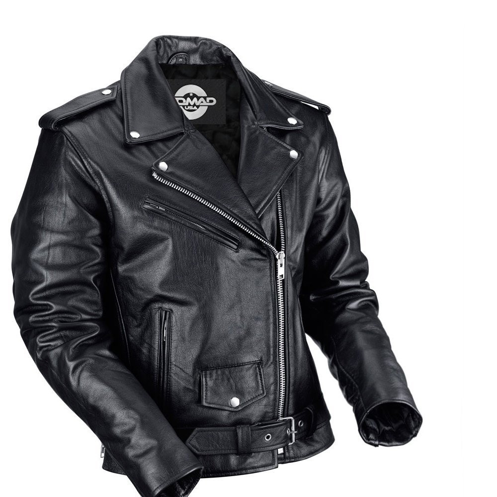 nomad usa classic leather biker jacket motorcycle house uk