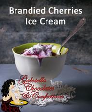 How to make Brandied Cherries Ice Cream