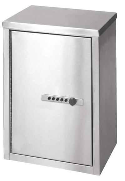 medium double door narcotic cabinet w combo lock
