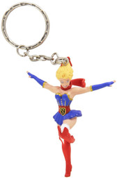 DC Comics Bombshells Supergirl Keychain Diamond 21907