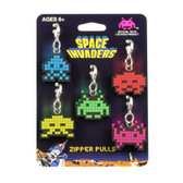 Space Invaders Zipper Pulls The Coop 27110