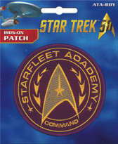 Star Trek Starfleet Academy Command Logo Iron-On Patch Ata-Boy 10151