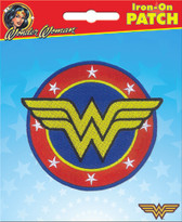 DC Comics Wonder Woman Logo Iron-On Patch Ata-Boy 10212
