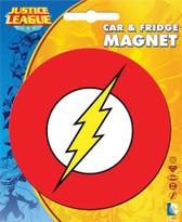 DC Comics The Flash Logo Car & Fridge Magnet Ata-Boy 10204