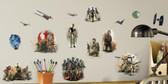 RoomMates Star Wars Rogue One 20 pcs Peel and Stick Wall Decals 27489