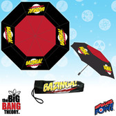 Big Bang Theory Bazinga Tri-Fold Umbrella Bif Bang Pow 017131
