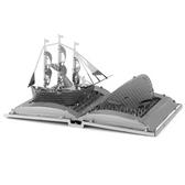 Metal Earth Moby Dick Book Sculpture 3D Metal Model + Tweezer 11166