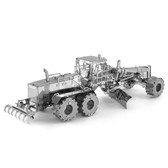 Metal Earth CAT Motor Grader 3D Metal Model + Tweezer 14211