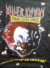 Killer Klowns From Outer Space T-Shirt Small kk01