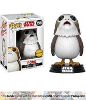 Pop Star Wars Ep 8 198 Porg CHASE Funko figure 48184