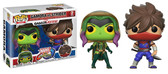 Pop Games Marvel vs. Capcom Gamora vs Strider 2 pack figure Funko 27766