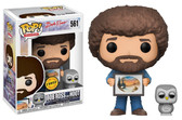 Pop Television Joy of Painting 558 Bob Ross And Owl CHASE Funko figure 57015