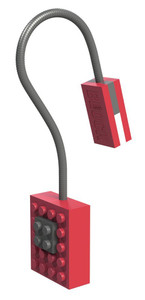 Block Light Clip on Reading Light Red 53049