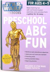 Star Wars Workbook Preschool ABC Fun 17803