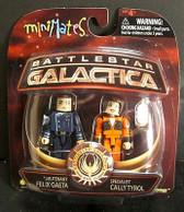 Battlestar Galactica Minimates Felix & Cally 60197
