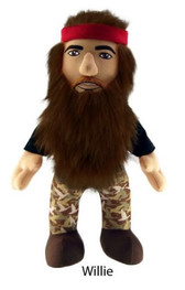 """Duck Dynasty 13"""" Plush with sound - Willy Commonwealth 944861"""