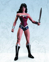 Justice League New 52 Wonder Woman figure DC Direct 308494